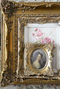 Grandma's picture frames