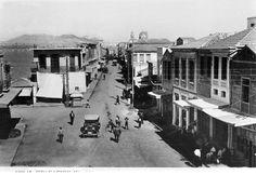 Heraklion, Platia Strata or Strada Larga Heraklion, Crete Island, Simple Photo, Old Maps, Old City, Vintage Photos, City Photo, Greece, The Past