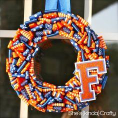 want to make an Aggie wreath