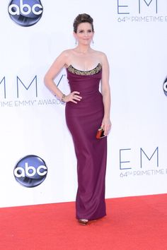 2012 Emmys Red Carpet: Tina Fey in Vivienne Westwood.