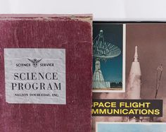 Nelson Doubleday Science Program Set of books about Space Travel (1960's)- Browse unique items from MountainaireSundries on Etsy, a global marketplace of handmade, vintage and creative goods.