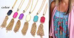Designer Inspired Tasssel Necklace