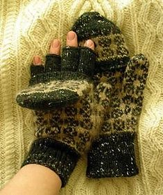 Frankenmitts, since they're neither gloves nor mittens but an unholy melange of both!