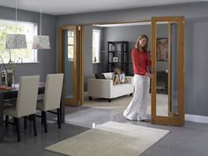 Inspire Internal flat folding doors 8ft - from http://www.vufold.co.uk