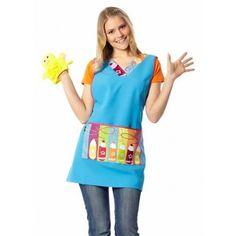 las batas escolares o batas de maestra son las prendas mas originales y divertidas que se comercializan, me encanta lo creativos que son los diseñadores Teacher Outfits, Smocking, Kindergarten, Peplum, Sewing, Aprons, Google, Style, Ideas