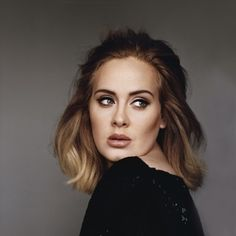 Re-create Adele's hair color in your salon with professionally crafted hair . Re-create Adele Adele 25 Album, Adele Hair, Adele Short Hair, Beyonce, Rihanna, Spice Girls, Madonna, Meghan Trainor, Divorce