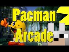"""PAC-MAN Minecraft Mods - """"Pacman Arcade 1.4.4 Review and Tutorial - Play Pacman in Minecraft!!"""""""
