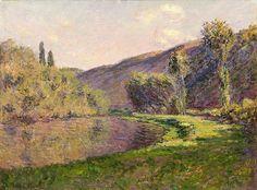 Le Bras de Jeufosse, effet de fin d'après-midi (C Monet - W 910)   Flickr - Photo Sharing!