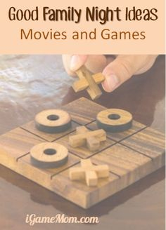 Family Night Ideas: Good Family Games and Movies, including fun games using mobile devices