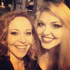 Anneke and Vicky Psarakis