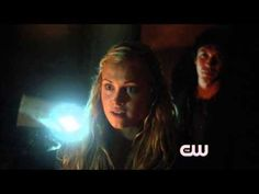 "Bellarke 1x08 part 4 - ""Ready to be a badass, Clarke?"" + Cute shoulder touching and smiles + Banter - that stutter ok bye like no way in hell is that only platonic"