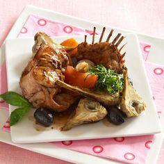 Découvrez la recette de la fricassée de lapin à la méridionale