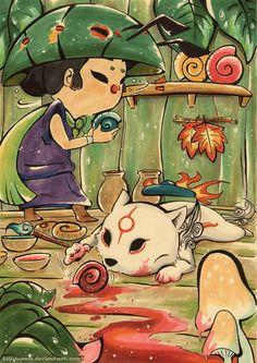 Little Artist by *Lulusama on deviantART