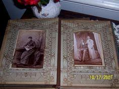 Old photo album...full of tintypes...