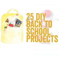 willowday: Leap into the school year with inspired Backpacks and Desktops School Projects, Diy Projects, Diy Back To School, Mothers Day Cards, Alphabet, Container, Clay, Fun, How To Make