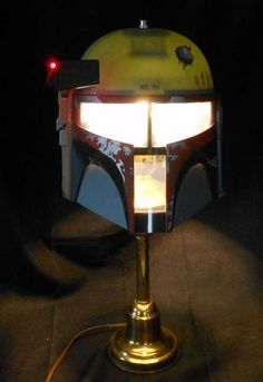 DIY Bounty Hunter Lamps - Illuminate Your Room Star Wars Style with This DIY Boba Fett Lamp (GALLERY)