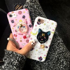 Kawaii Fashion Shop Iphone6&7 Case on The Demon's Chest.Cute Cartoon Luna Cat Iphone6&7 Case Creative Shell Dc214 Use strong metallic, feel comfortable, perfect metallic luster. Shaped into an organic whole to achieve both top piece, has perfect appearance, and has strong ability to protect