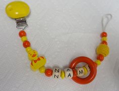 Pacifierclip pacifierholder by YPhandmadeCreations on Etsy