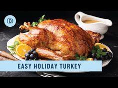 EASY Roast Turkey & Gravy Recipe (FOOLPROOF & JUICY!) - YouTube