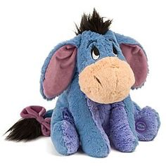 Disney Eeyore Plush Toy- William loved this when he was a baby. he carried it everywhere Winnie The Pooh Plush, Winnie The Pooh Nursery, Winnie The Pooh Friends, Disney Plush, Disney Toys, Pooh Bear, Tigger, Eeyore Pictures, Christmas Presents For Moms