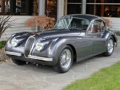 Love, Lust & Everything inbtw @ First Sight....Purrrrr 1953 Jaguar XK120