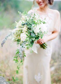 Bouquet loveliness: http://www.stylemepretty.com/wisconsin-weddings/2015/02/20/vintage-romance-wedding-inspiration/ | Photography: Amanda Nippoldt - http://www.amandanippoldt.com/