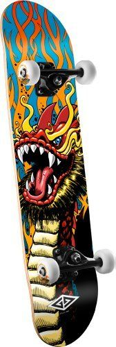 PGD New Years Dragon Mini Complete Skateboard (Green 422831f90d5