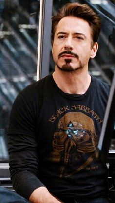 Robert Downey Jr. I love him because he's slightly disturbed. All the best people are.