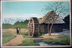 Date unknown - Hasui, Kawase - Skirt of Mt Fuji - Japanese Art Open Database