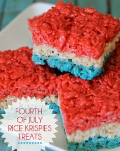Colorful rice krispies treats are so easy you can let the kids do all the work!