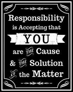 self responsibility - Google Search
