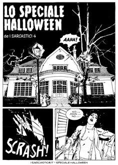 Pagina 01 - L'alba dei morti viventi - lo speciale #Halloween de #iSarcastici4. #LuccaCG15 #DylanDog #fumetti #comics #bonelli