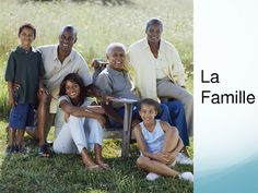 French Family Vocabulary Powerpoint Game/Activity
