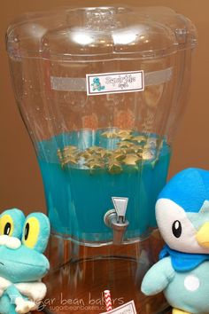 Squirtle Spit:  Pokemon Party Sugar Bean Bakers: {Quick and Easy Pokemon Party}