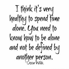 Unhealthy to spend time alone