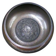 """4"""" Singing bowl Gulpa Buddha 1 Image"""