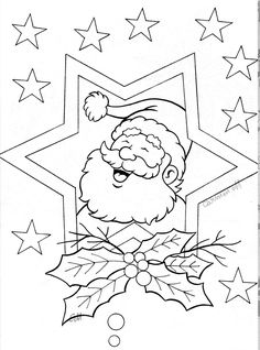 Awesome Most Popular Embroidery Patterns Ideas. Most Popular Embroidery Patterns Ideas. Christmas Colors, Christmas Art, Christmas Themes, Xmas, Coloring Book Pages, Printable Coloring Pages, Christmas Coloring Sheets, Illustration Noel, Christmas Embroidery