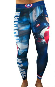 1756717befd S2 Activewear - UNISEX Captain America Leggings