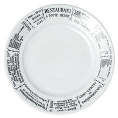 "Brasserie 6.5"" Plate"