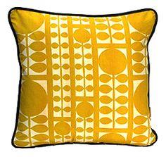 Vintage Mid-Century Modern Pillow