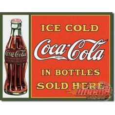 COKE Sold Here in Bottles