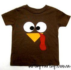 GOOD GRAPHICS FOR  THANKSGIVING CARD/ DIY Turkey Shirt at artsyfartsymama.com