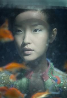 Hong Kong-based photographer Wing Shya shoots Chinese supermodel Du Juan in a beautiful photo spread for Flair Italy.