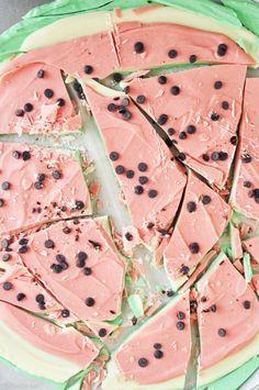 Watermelon Bark | The Chic Site