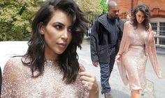 Kim Kardashian and Kanye West at star-studded Vogue Festival in London