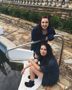 Amy and Lauren Cimorelli Cimorelli Sisters, Lauren Cimorelli, Movie Facts, Now And Forever, Girl Bands, You Funny, I Movie, Cool Girl, Amy