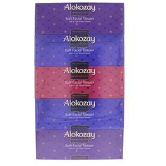 Buy Alokozay Soft Facial Tissues 200 X Ply X 5 + 1 Online in UAE, Dubai, Qatar @ Best Price  #Alokozay #Tissues #Luluwebstore.com