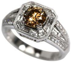 Rings - Chocolate Diamond Rings - -