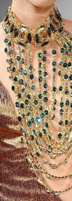 Glamour y elegancia... Statement jewelry ᘡղ beauty bling jewelry fashion