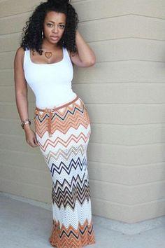Striped Two Piece, Love Fashion, Womens Fashion, Classy Casual, Dress For You, Dress Skirt, Chevron, Fashion Dresses, Stylish